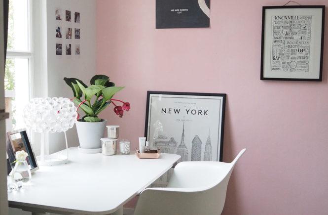 Avec Sofié blog l Pink Office room