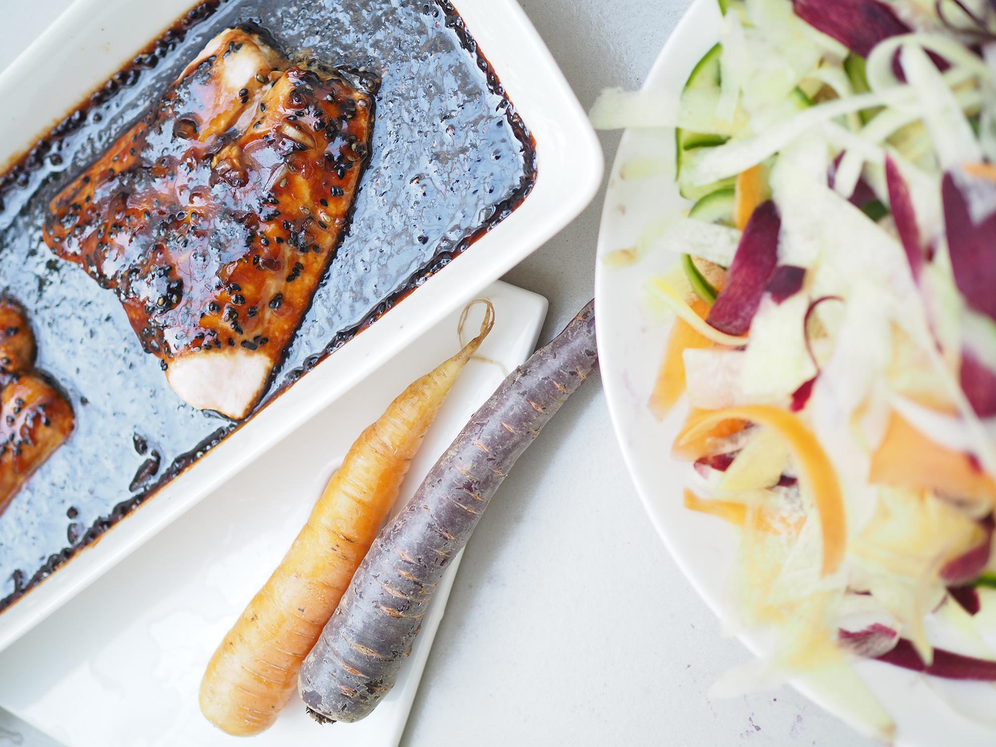 Avec Sofié blog l Teriyaki salmon l Teriyaki lohi