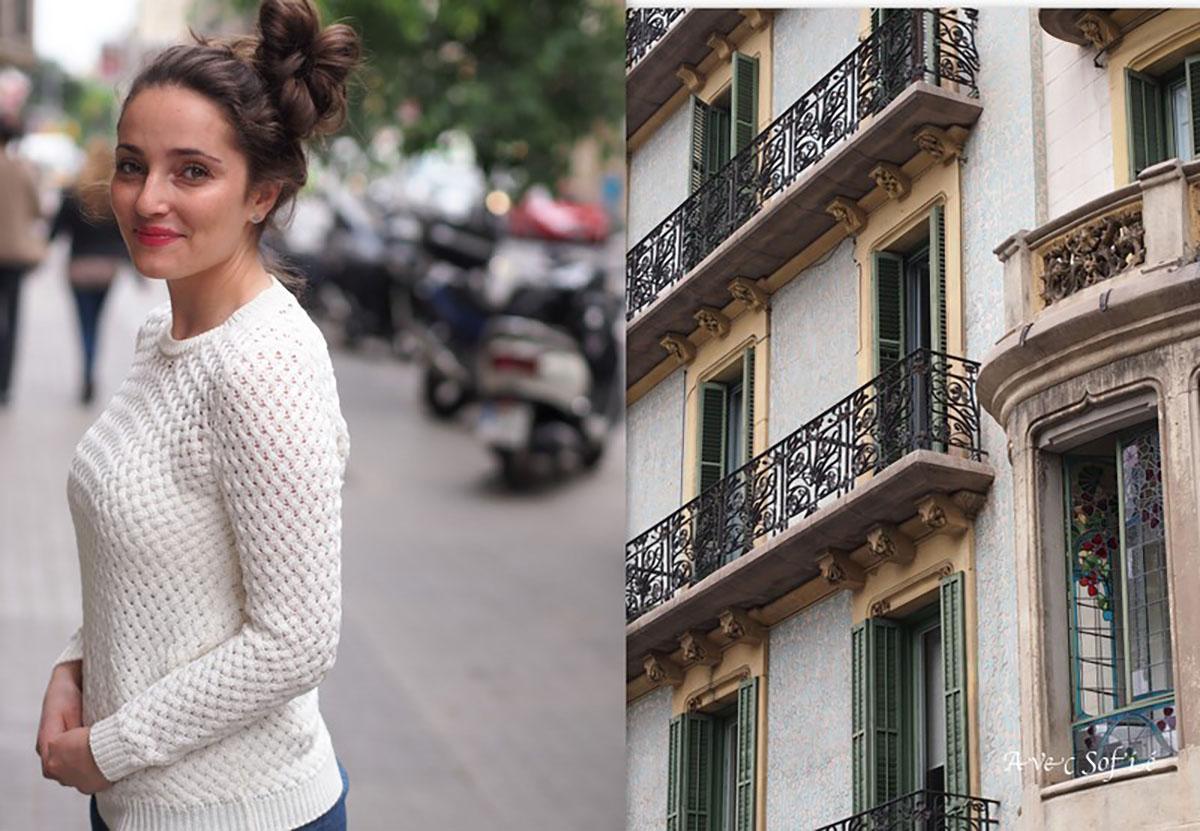 Avec Sofié blog l Barcelona