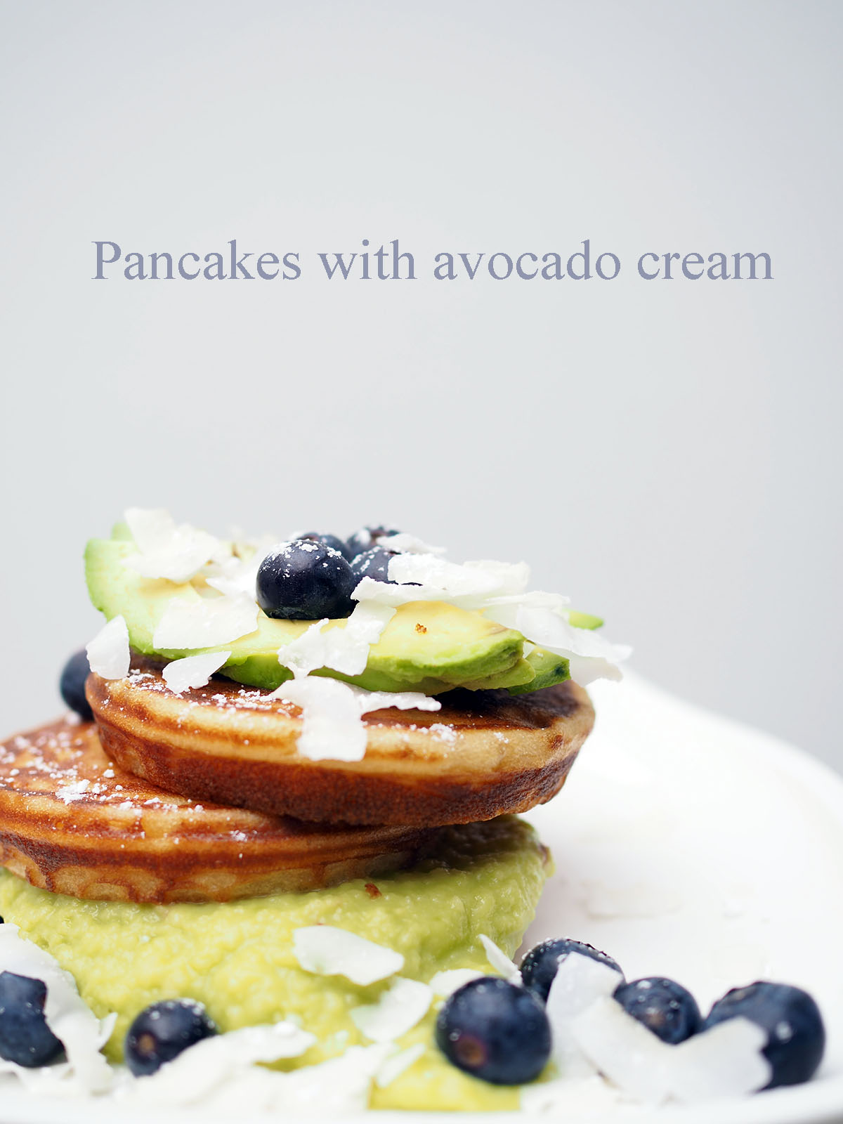 Avec Sofié blog l Pancakes with avocado cream