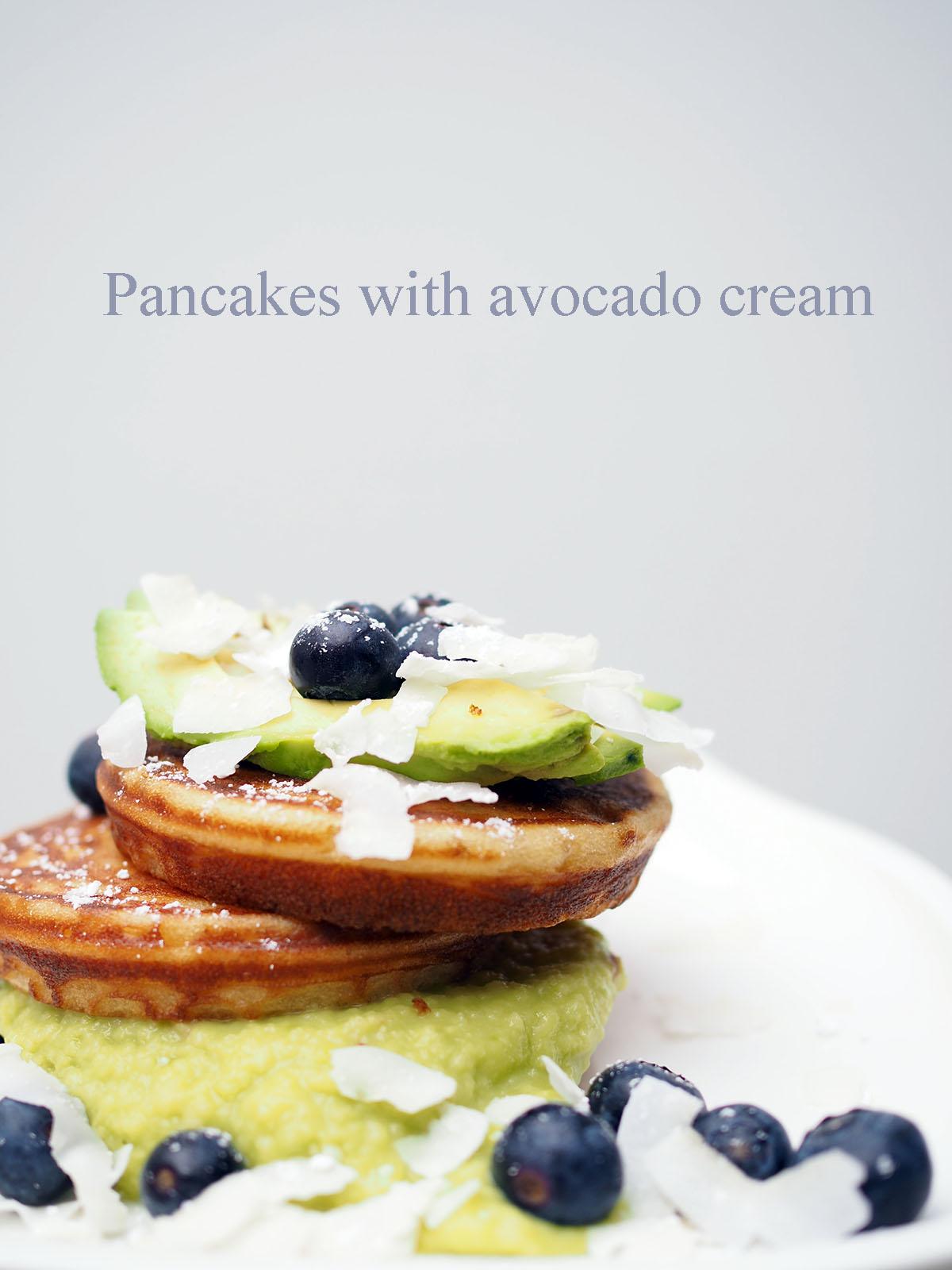 Avec Sofié blog l Pancakes with avocado cream