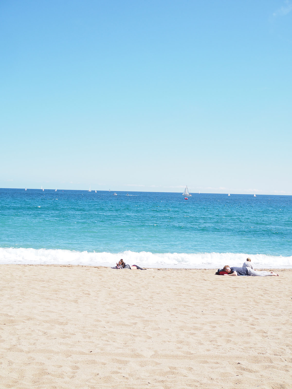 Avec Sofié blog l Barcelona Spring time