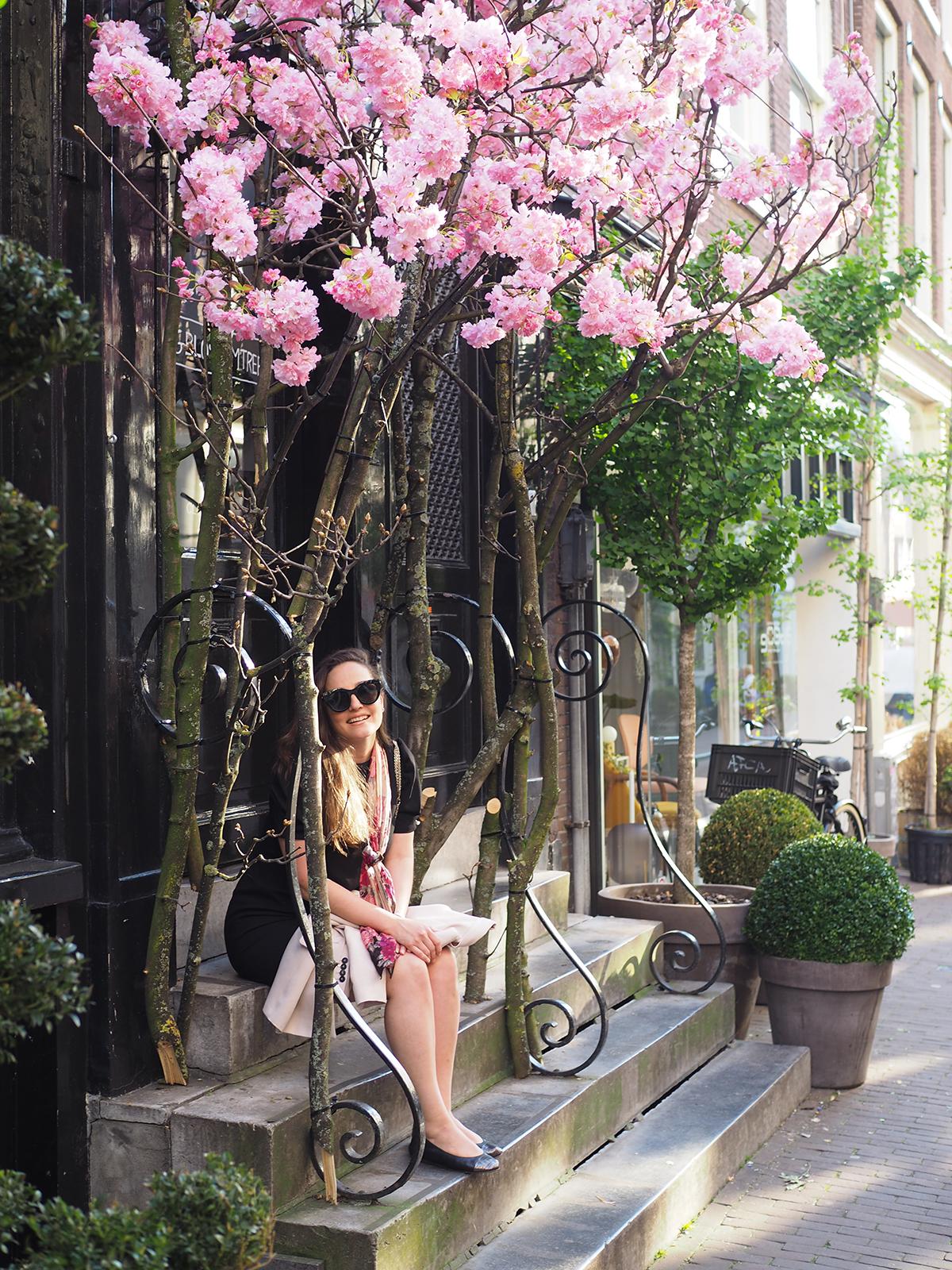 Avec Sofié blog l Cherry blossoms in Amsterdam