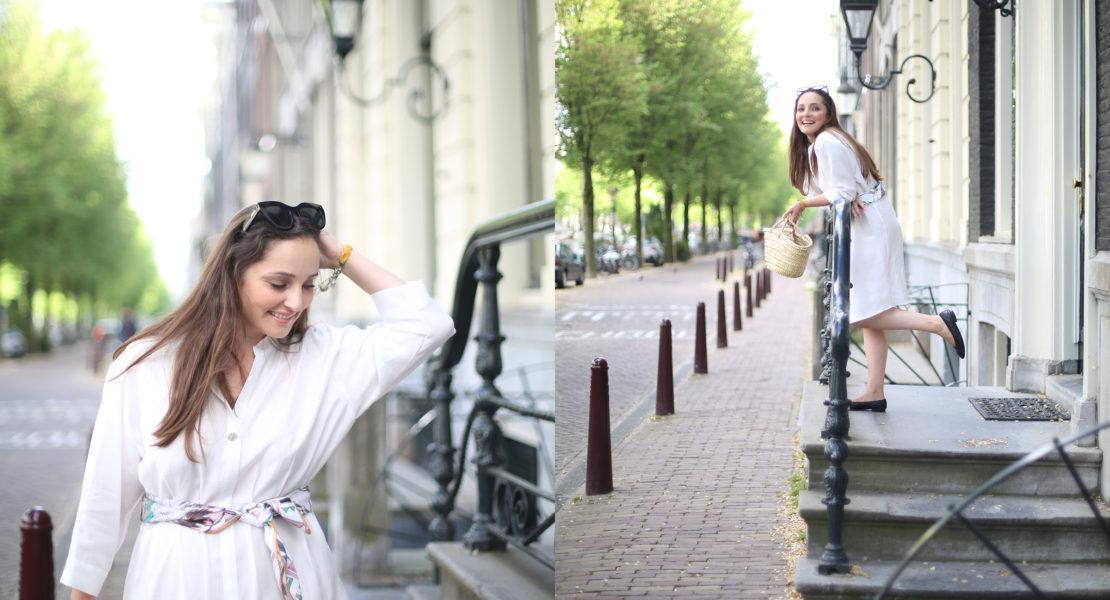 AvecSofié - Hermes classic silk square scarf