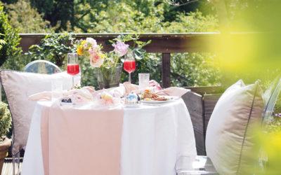 Pinterest perfect puutarha-aamiainen