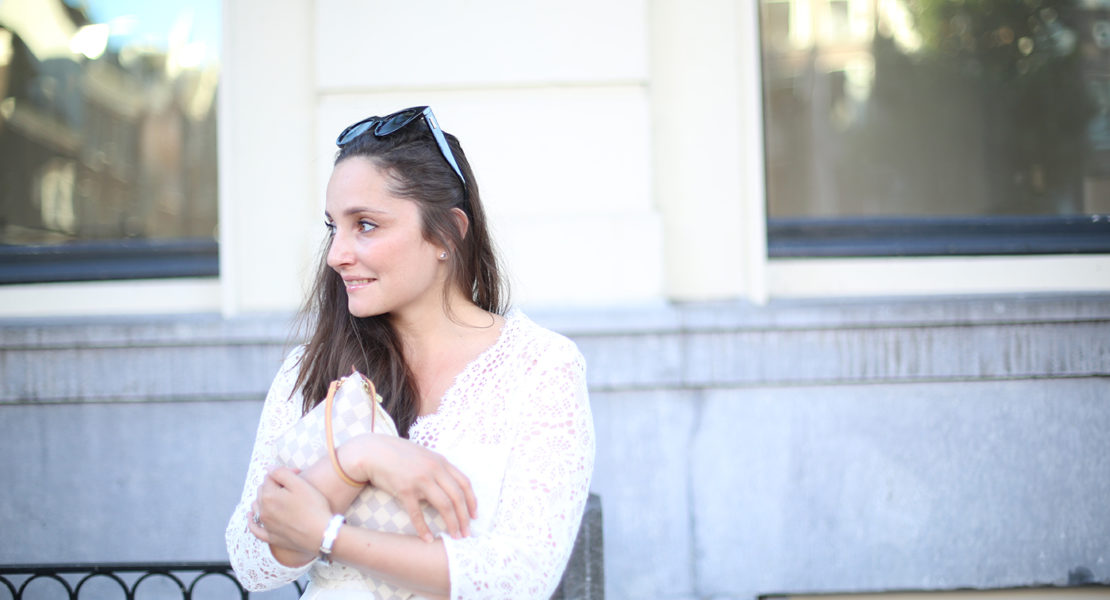 Avec Sofié blog and Claudie Pierlot dress