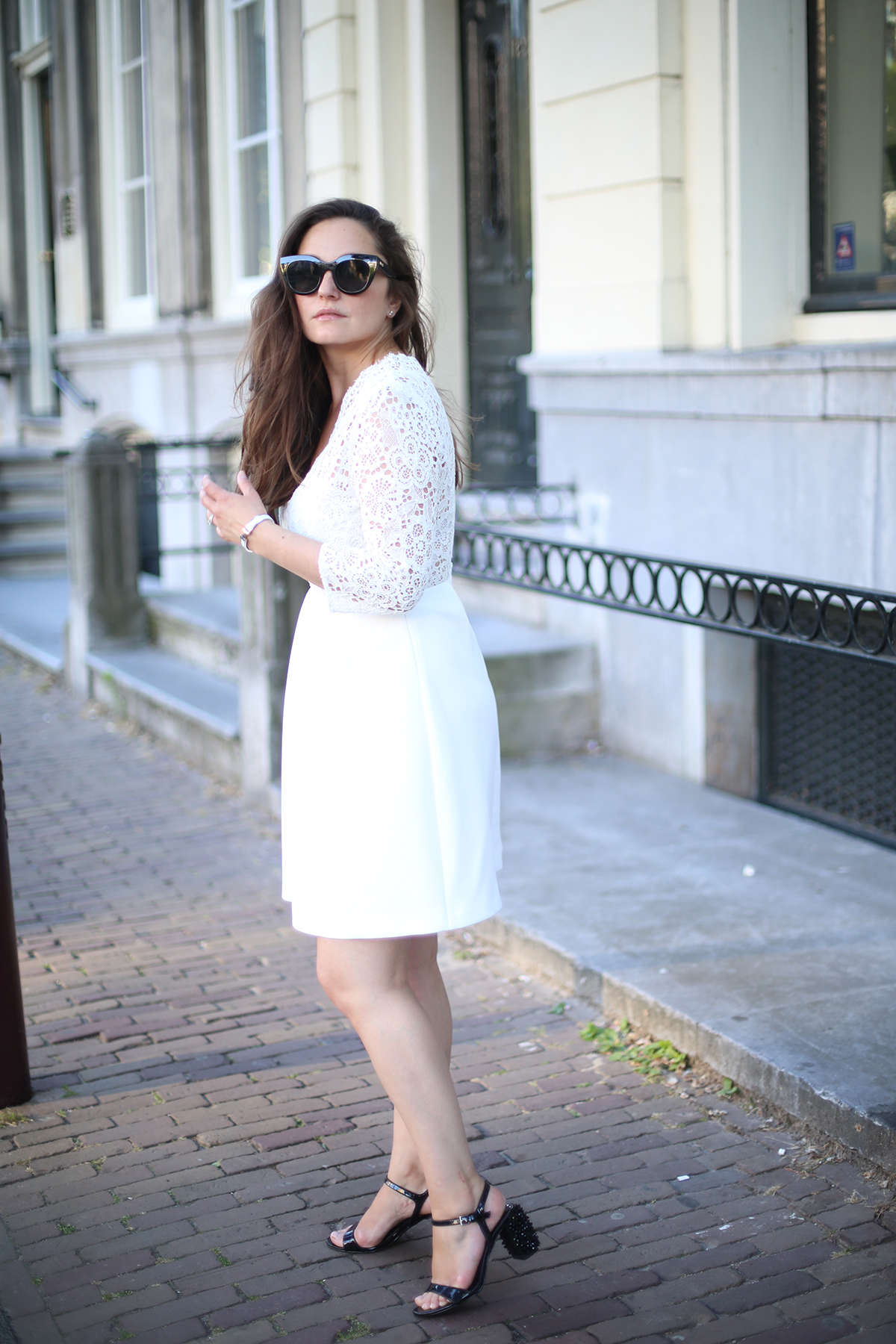 Avec Sofié blog and Claudie Pierlot dress