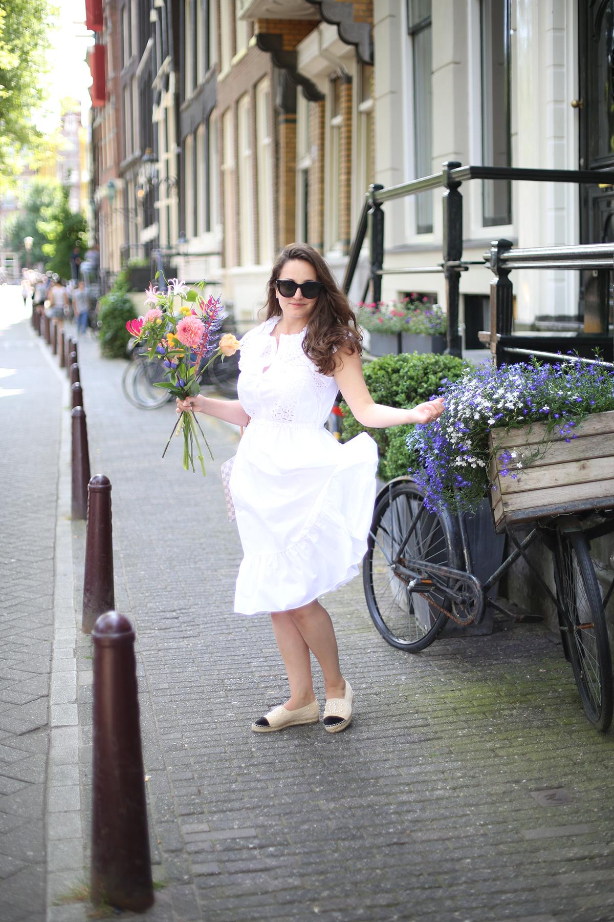Avec Sofié blog Sandro Paris - perfect summer dresses