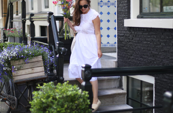 Avec Sofié blog Sandro Paris - perfect summer dresses