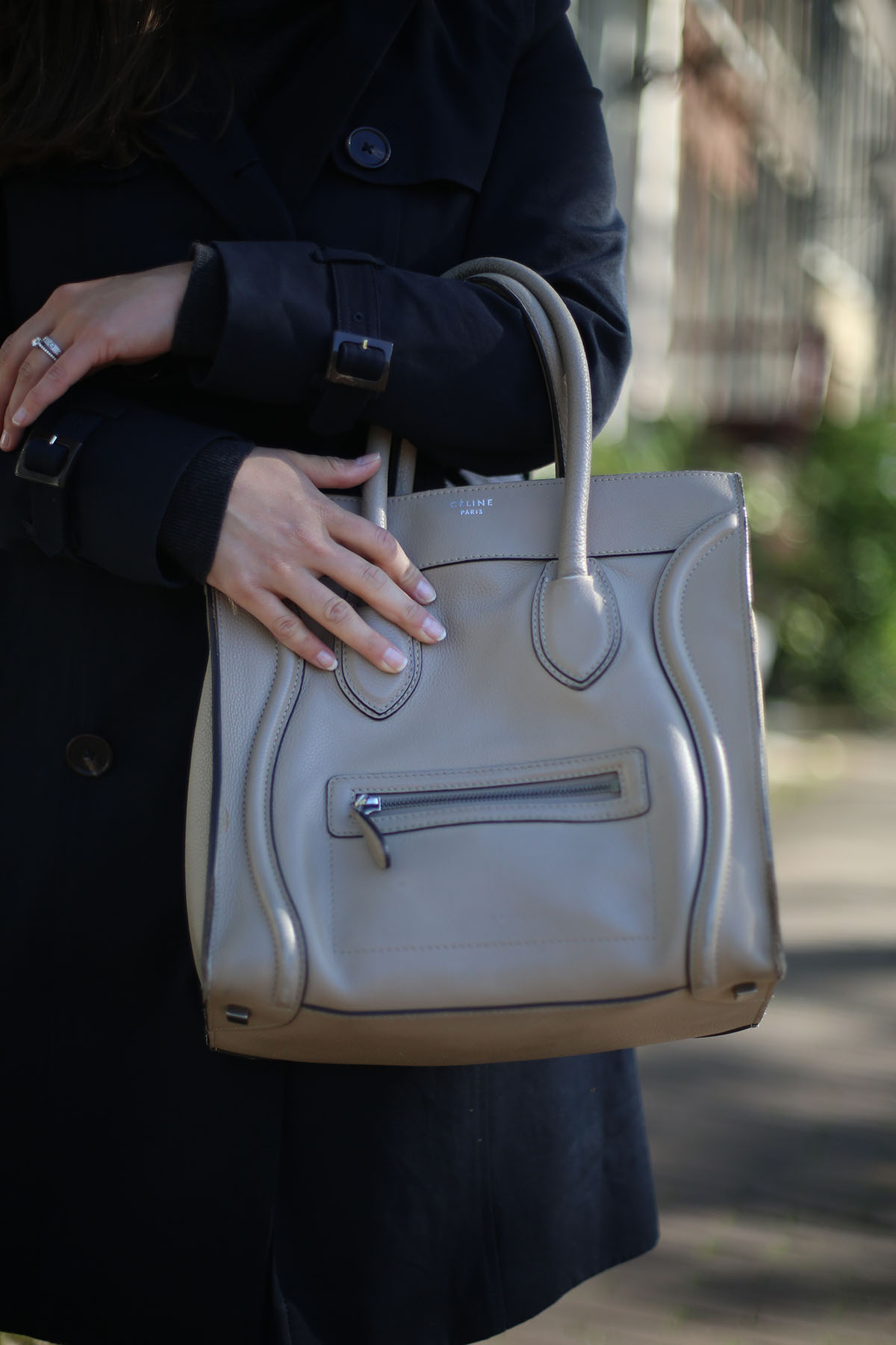 Avec Sofie blog l Second hand Céline luggage