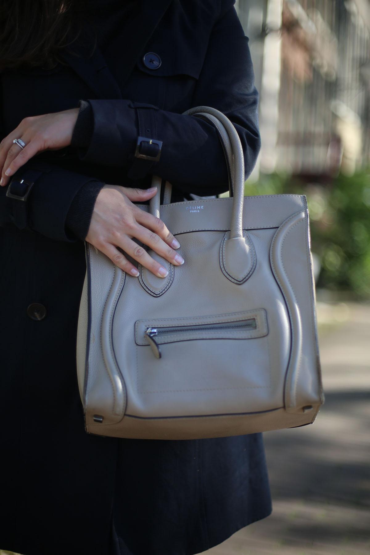 Avec Sofie blog l Second hand Céline luggage