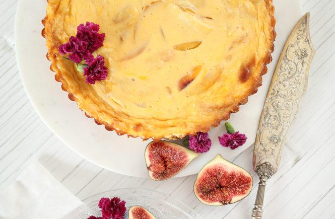 Avec Sofié Blog l nektariini -omenapiiras karamellilla