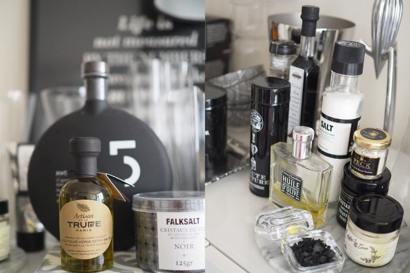 Avec Sofié blog l Parisian kitchen with black and white consumer goods